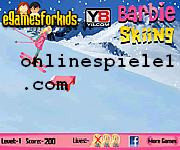 Barbie skiing game Sport online spiele
