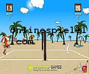 Beach volleyball game Sport online spiele